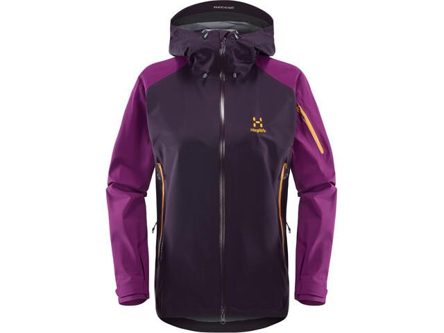 Haglöfs Roc Spirit Jacket Dam acai berry/lilac
